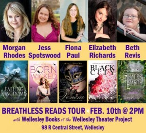 Breathless Reads Tour Feb. 10