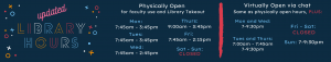 Updated library hours