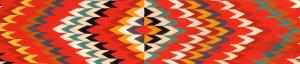 red navajo rug/blanket
